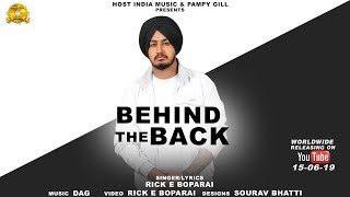 Behind The Back - Rick E Boparai Mp3 Song Download