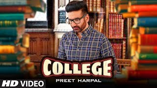 Preet Harpal - College Download Mp3 Song