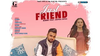 Just Friend Mp3 Song Remmy Video HD