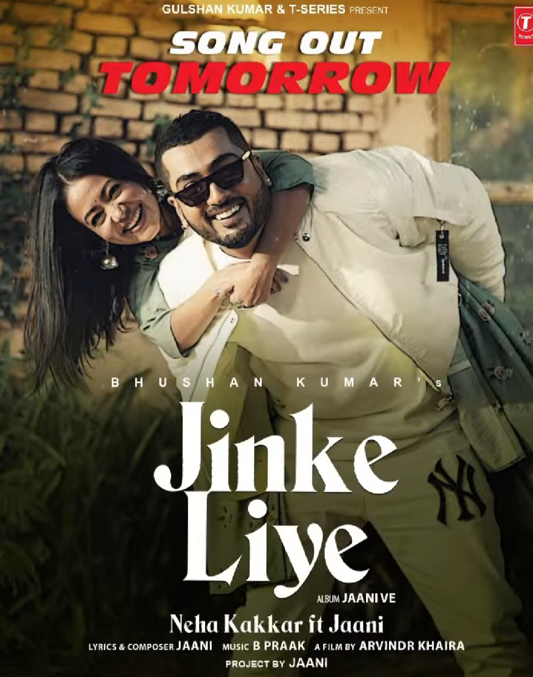 Jinke Liye Mp3 Song By Neha Kakkar Ft Jaani