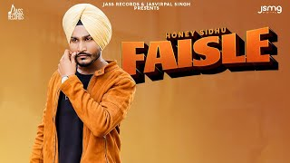 Faisle Mp3 Song Honey Sidhu Download New Song