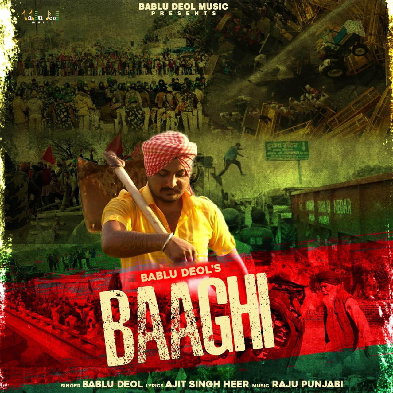 Baaghi Mp3 Song Bablu Deol Download New Punjabi Song